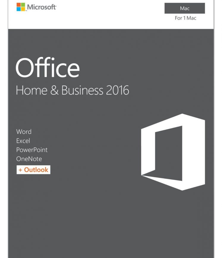 Buy MS Office Home and Business 2017 mac os