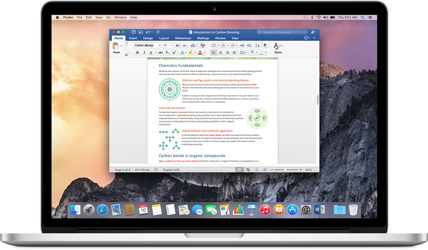 Unmistakably Office, designed for Mac